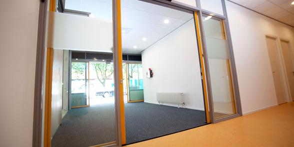 Fire proof doors with Gatemaster® Excel drive